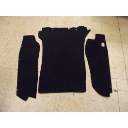 Kit moquette coffre avant pour porsche tous modèles