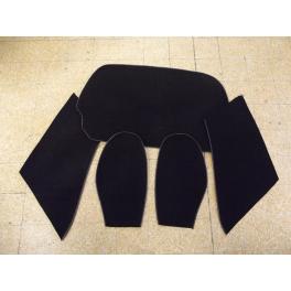 Kit moquette arrière pour porsche type rs